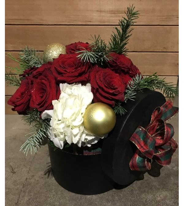 Christmas Rose Gift Box