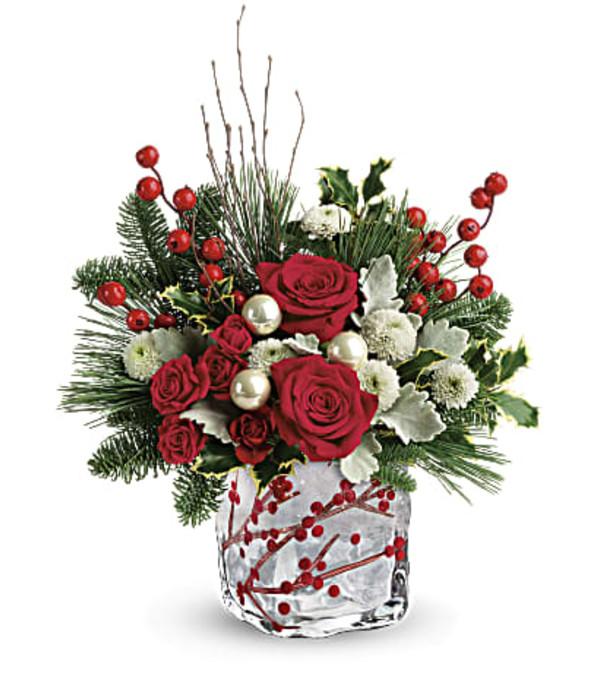 Winter berry Kisses Bouquet