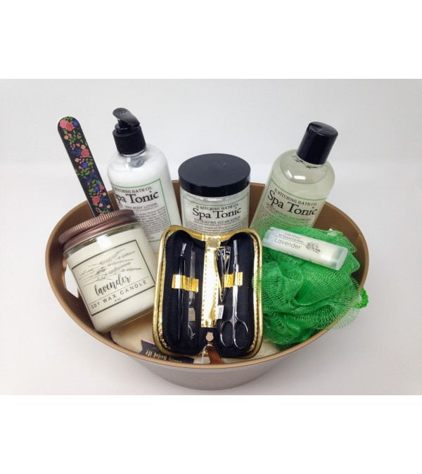 Serenity Spa Basket