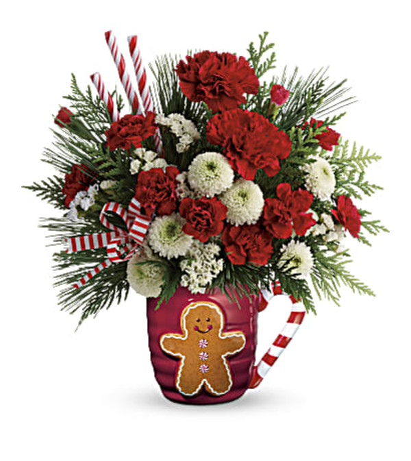Teleflora Send A Hug Winter Sips Bouquet