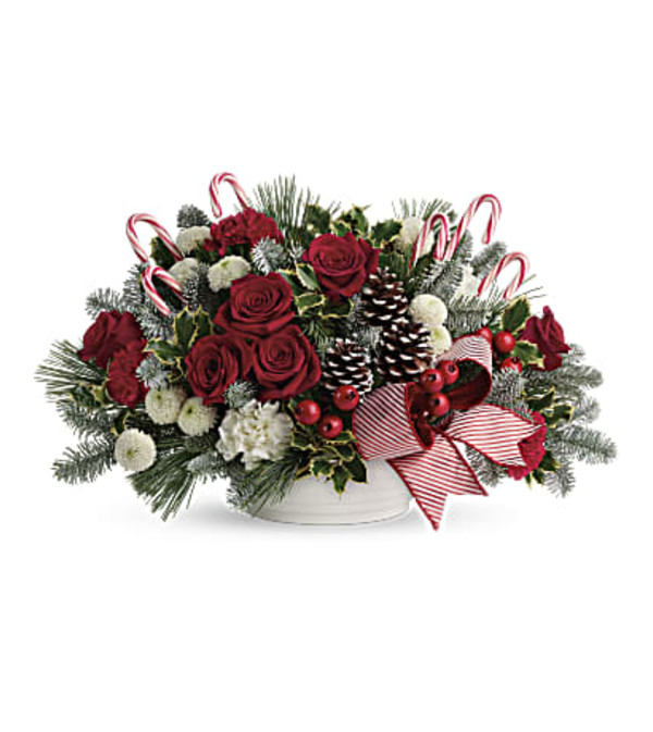 TF Jolly Candy Cane Bouquet