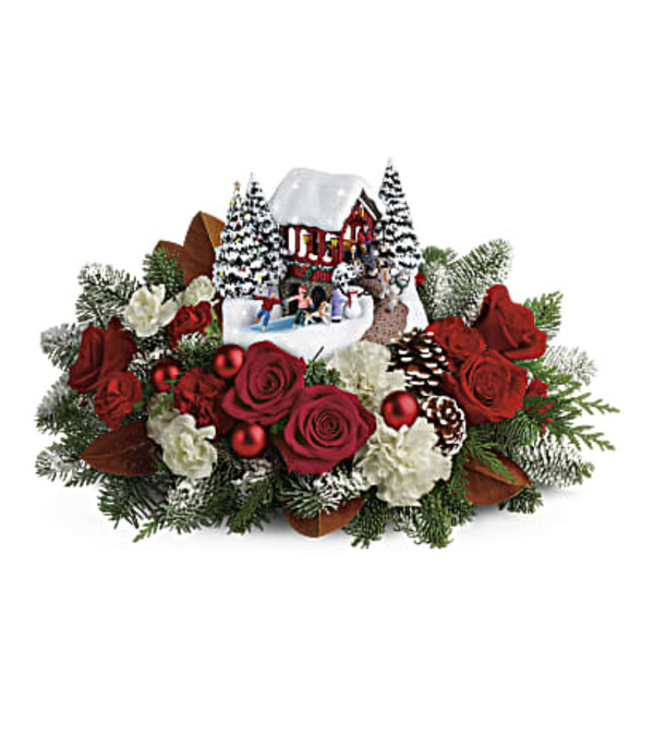 Kinkade Snowfall Dreams Bouquet