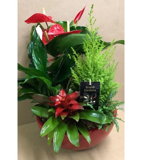 Large Christmas Planter