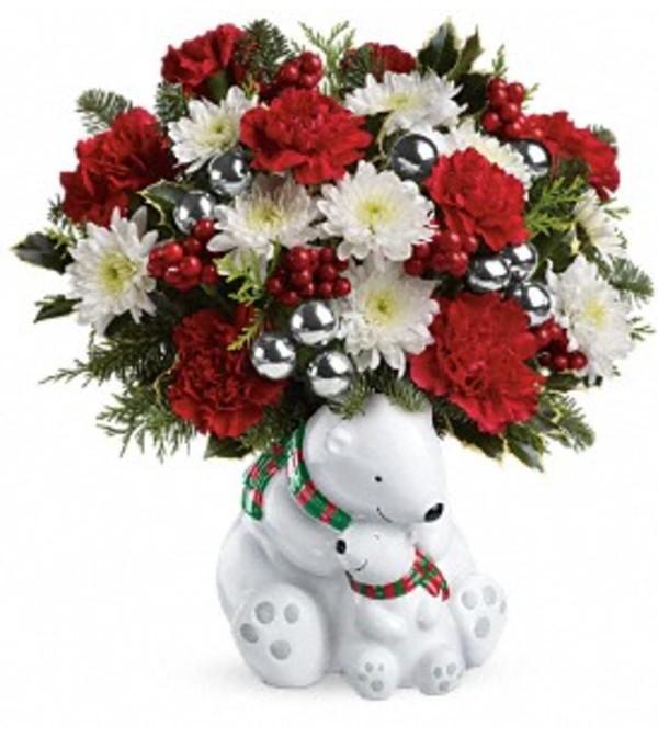 Cuddling Bears Bouquet