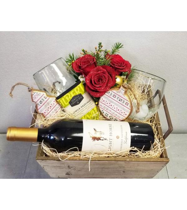 Blooming Wine Box - Cabernet Sauvignon