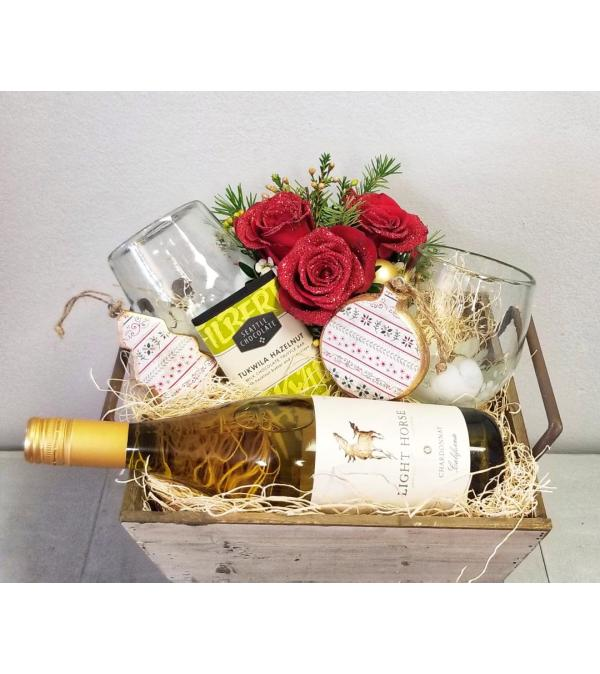 Blooming Wine Box - Chardonnay
