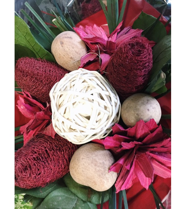 Darling Dried Bouquet (Matte Red)