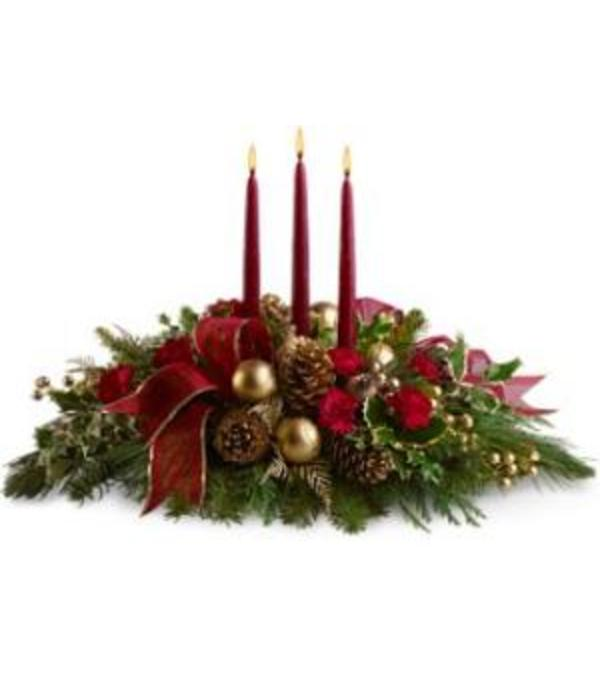 Rothe Family Christmas Centerpiece