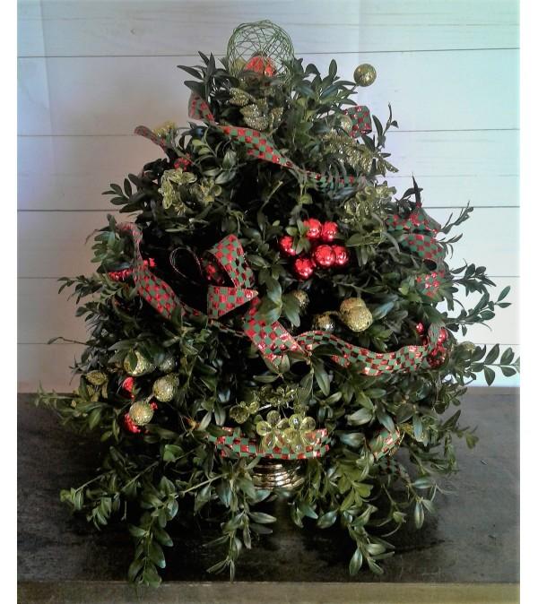 Checkerboard Christmas Tree