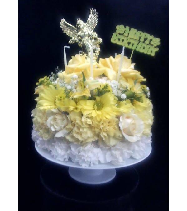 BIRTHDAY ANGEL CAKE