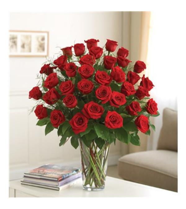 Classic Three Dozen Rose Vase