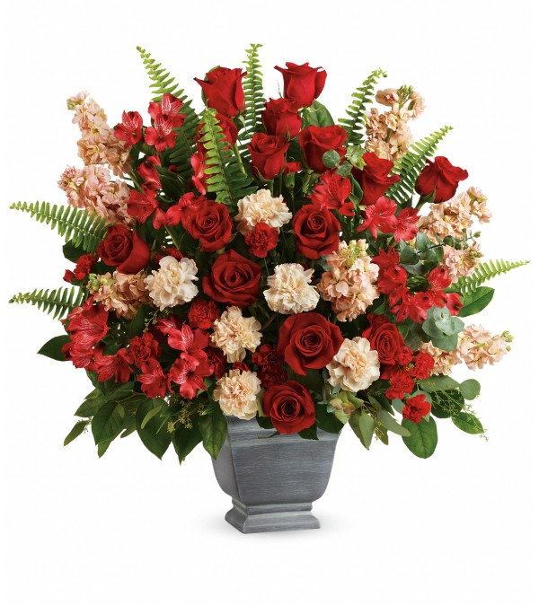 Teleflora Bold Tribute Bouquet