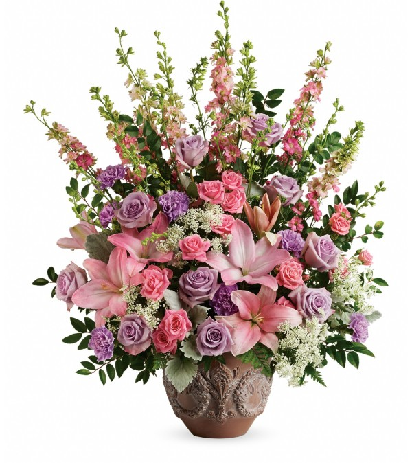 Teleflora Soft Blush Bouquet