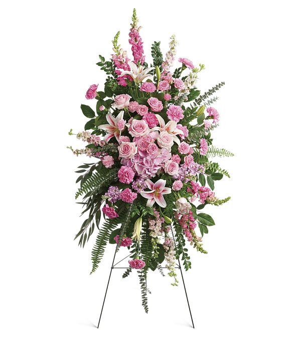 Teleflora Glorious Farewell Spray