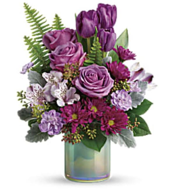 Art Glass Garden Bouquet