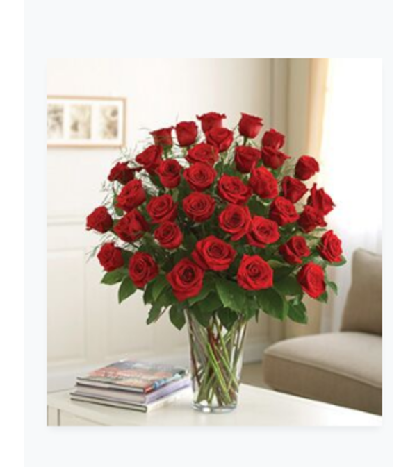 Flowerama 3 Dozen Rose Vase