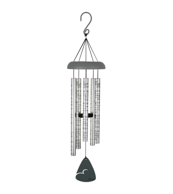 "30"" Sonnet Windchime - Live, Laugh, Love"