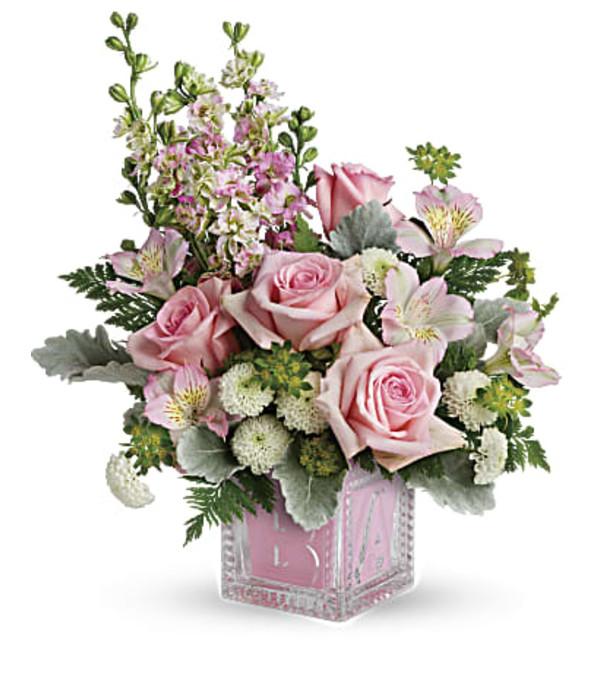 Bundle Of Joy Bouquet Girl TNB10-1