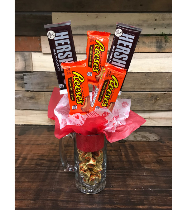 Peanut Butter Lovers Candy Bouquet