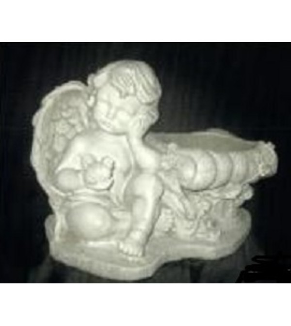 Statue - Angel With Side Bowl