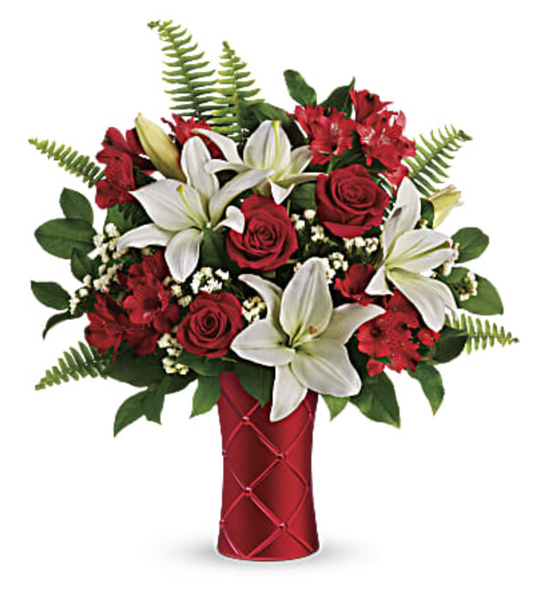 Sweetest Satin by Teleflora