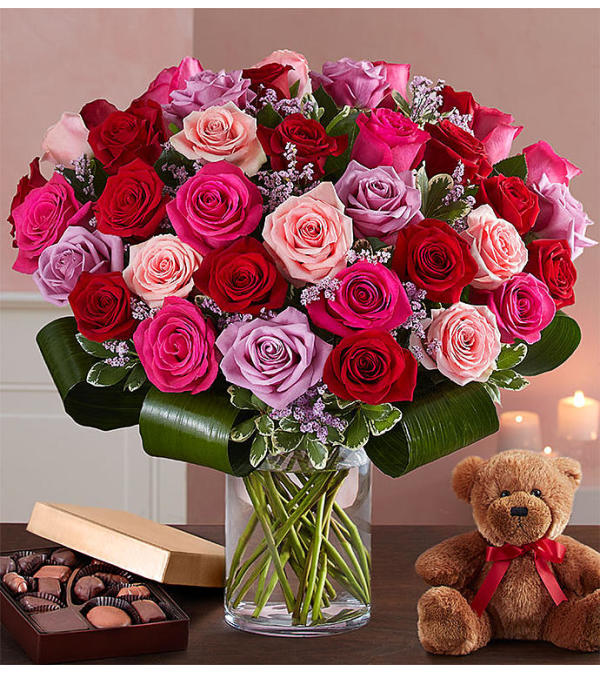 Lavish Love Bouquet 50 Roses