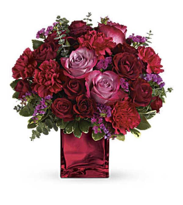 Ruby Rapture Bouquet TEV23-1