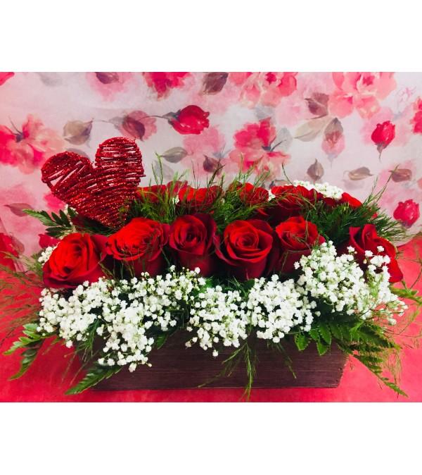 Vintage Love Roses