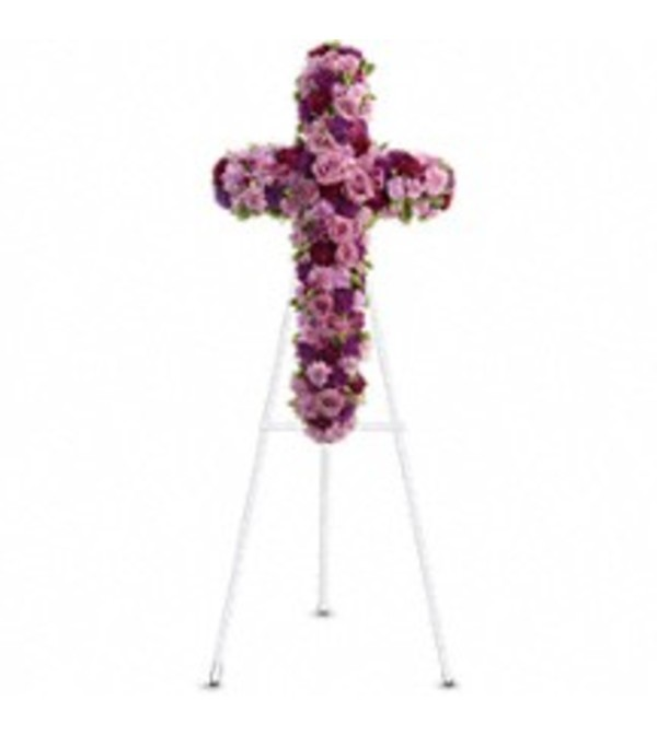 Teleflora's T238-1A - Deepest Faith Cross