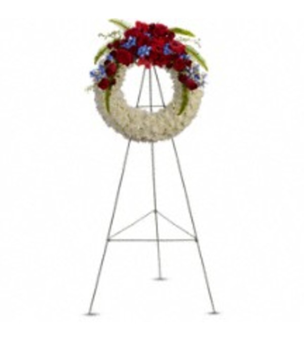 Teleflora's T241-1A  Reflections Of Glory Wreath