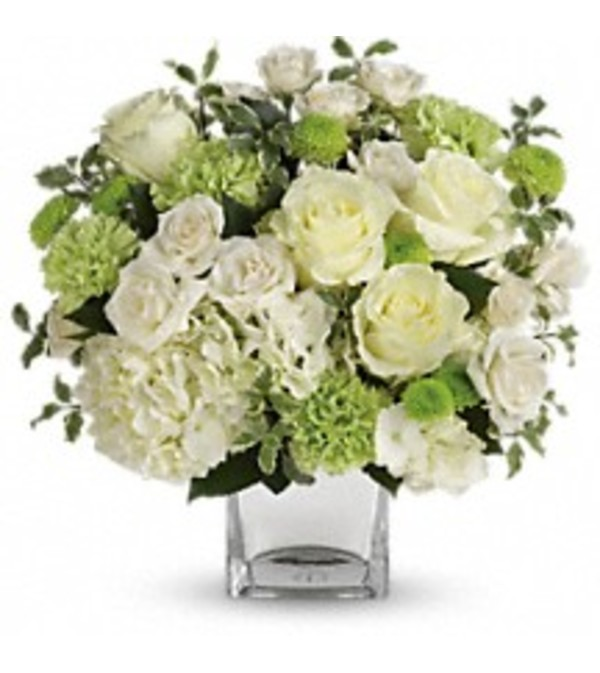 Teleflora's T601-2 Shining On Bouquet
