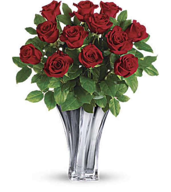 Premium Dozen Red Roses