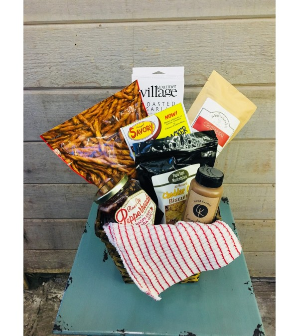Savory Snack Attack basket