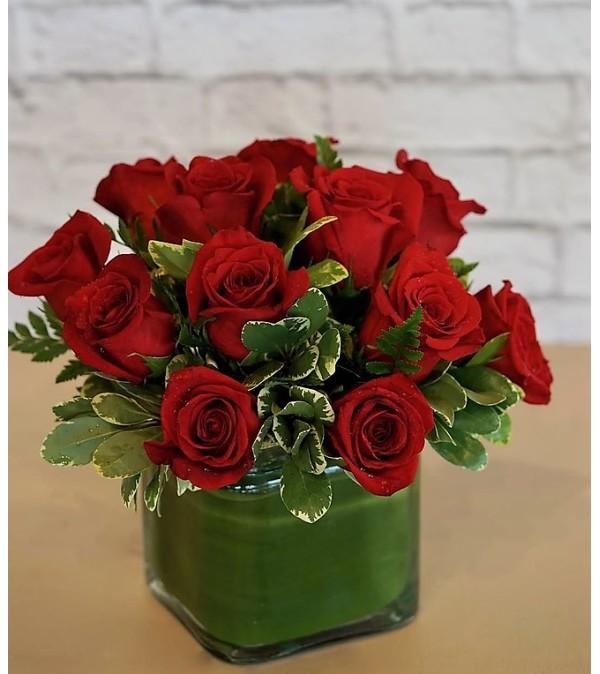 Roses-Garnet