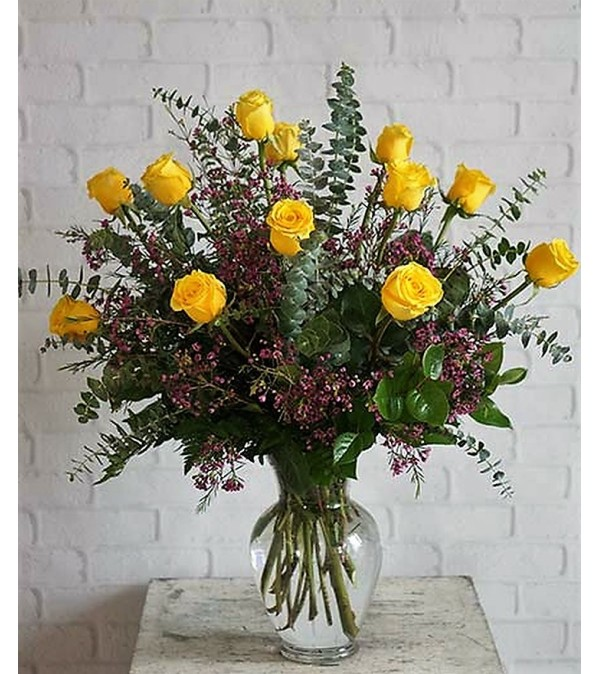 Ultimate Yellow Roses
