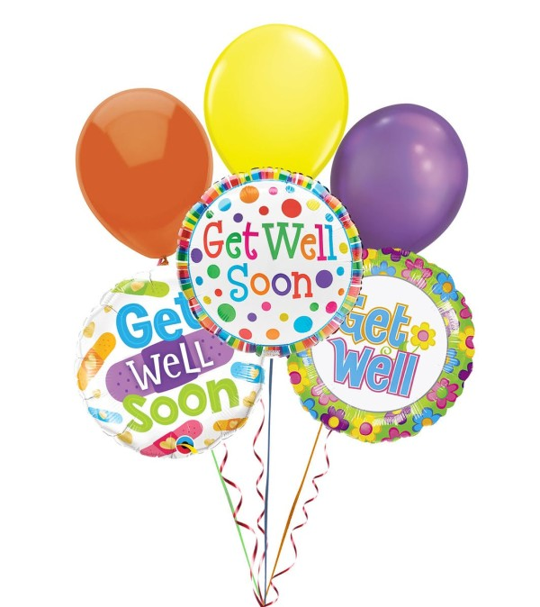 Balloon Bouquet-Get Well