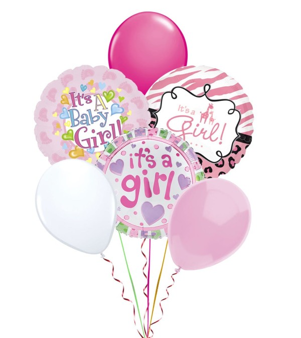 Balloon Bouquet-Baby Girl
