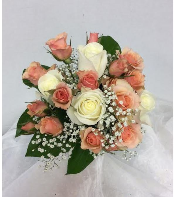 Prom BVP10 - Just Peachy Bouquet (pick up only)