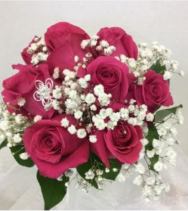 Prom BVP4 - Rosy Posy Bouquet (pick up only)