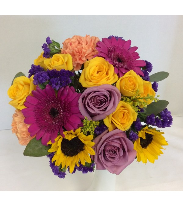 Prom BVP26 - Bright Lights Bouquet - Small (pick up only)