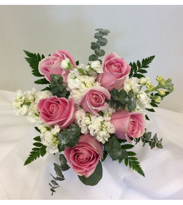 Prom BVP16- Soft and Sweet Bouquet