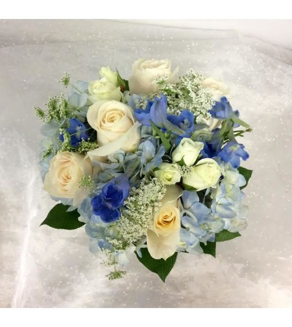 Prom - Blue Hue Bouquet (pick up only)
