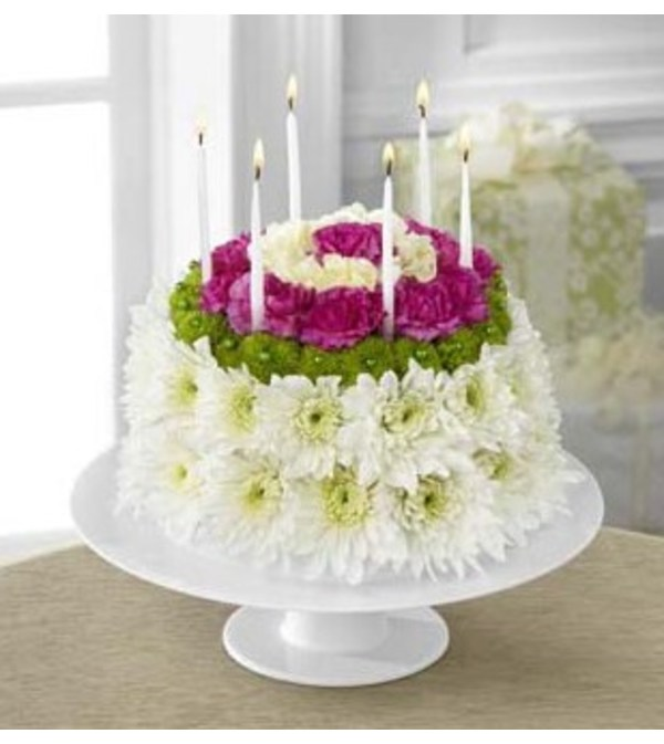 Birthday Floral Cake
