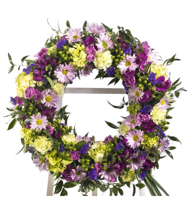 Lavender Reflections-Wreath