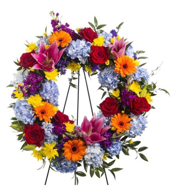 Glorious Garden-Wreath