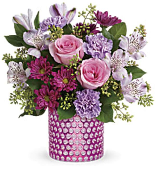 Telefloras Bubbling Over Bouquet
