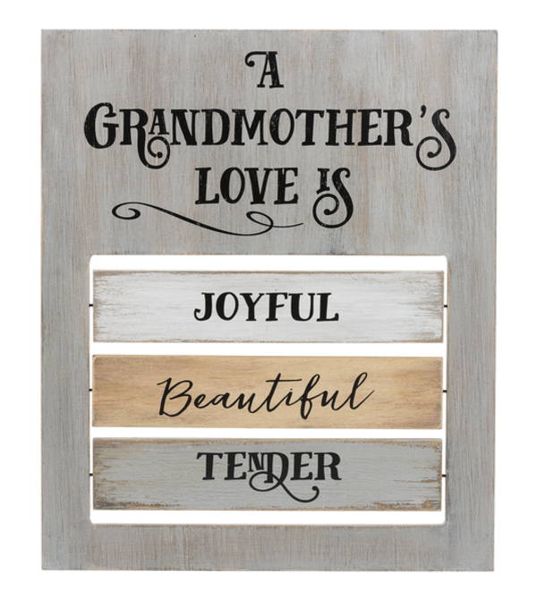 A Grandmother's Love is... Plaque I