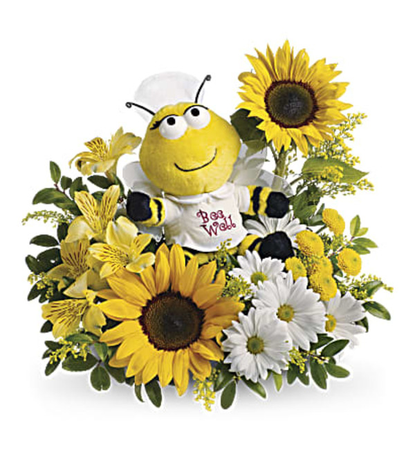 Our Bee Well Bouquet