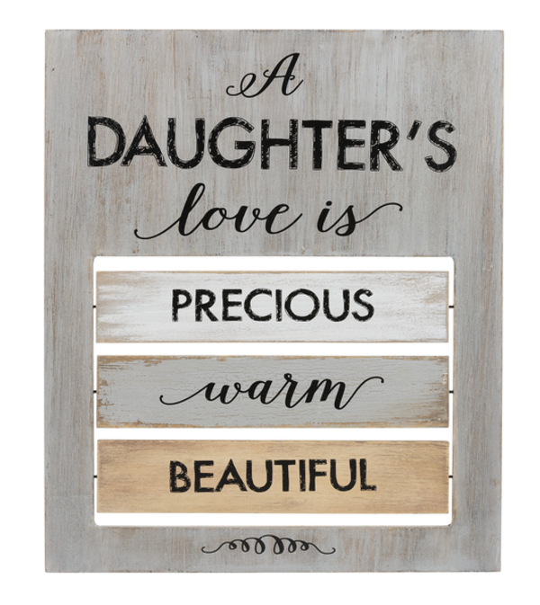 A Daughter's Love is ... Plaque I
