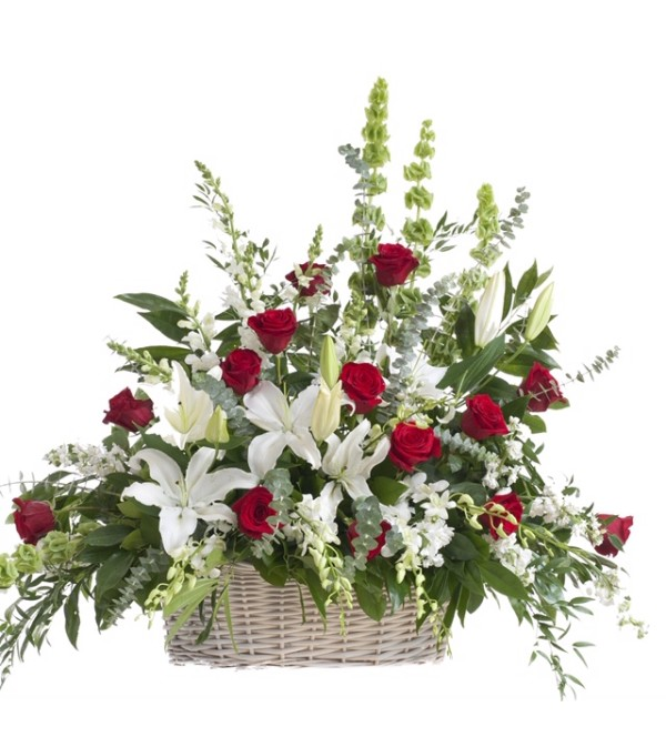 Cherished Farewell-Floor Basket